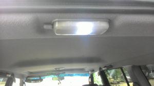 Фонарь освещения багажника