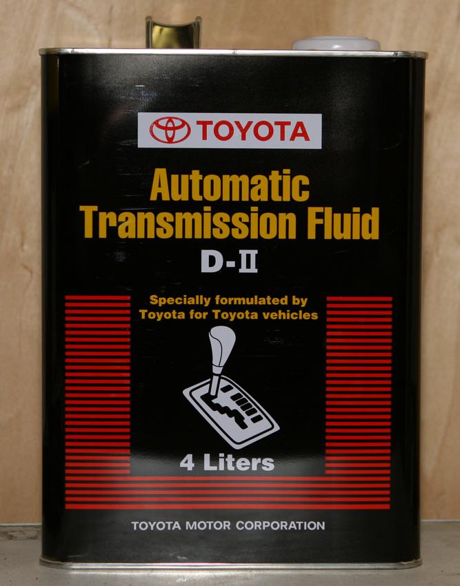 жидкость для акпп toyota dextron 2